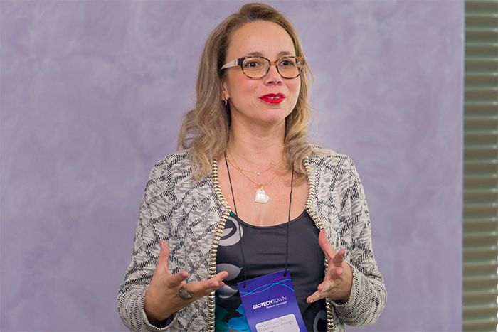 Leticia Braga, CEO da Oncotag no BiotechTown