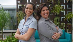Silvana Medeiros, Assistente Administrativo Financeiro e Vanessa Silva, Diretora Executiva da Anbiotec